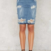 One TeaspoonFreelove Denim Skirt - Austyn