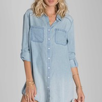 Billabong - Got The Blues Dress | Chambray