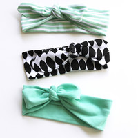 The Knotted Headbands // The Ginger Collection | Little Hip Squeaks