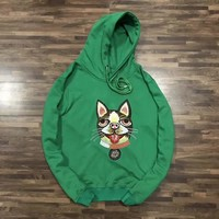 GUCCI Fashion Embroidery Hoodie Top Sweater-2