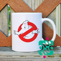 Ghostbusters logo Coffee Mug, Ceramic Mug, Unique Coffee Mug Gift Coffee