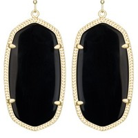 Danielle Earrings in Black - Kendra Scott Jewelry