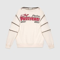 Gucci Oversize sweatshirt with movie print