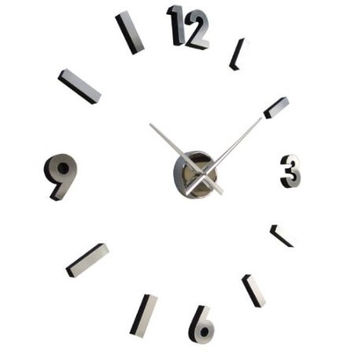 18-Inch Modern Abstract Contemporary Wall Clock