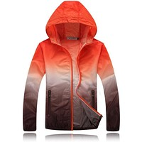 Men Windbreaker Ultralight Skin Jacket