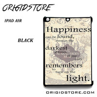 The Mauders Map Quote For Ipad Air 2 Case Please Make Sure Your Device With Message Case UY