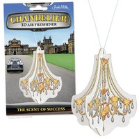 Chandelier Deluxe 3D Air Freshener - Glam Up Your Car!