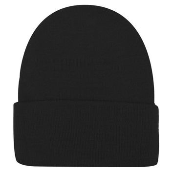 8 Colors Plain Cap Slouchy Beanies Knitted Hat for Women Men Warm Hip Hop Hats NW