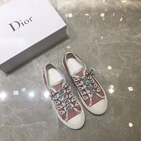 Dior Pink fashion casual sports shoes