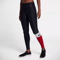 NIKE POWER TGHT PL CLRBLK SP WOMEN'S TRAINING TIGHTS
