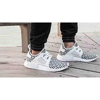 """Adidas"" NMD XR1 Duck Camouflage Popular Women Men Leisure Running Sport Shoes Sneakers White I"