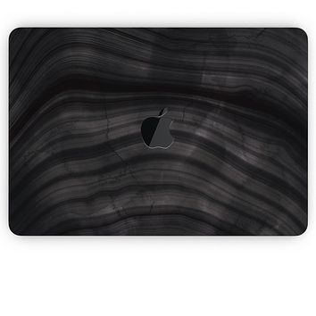 """Vivid Agate Vein Slice Foiled V10 - Skin Decal Wrap Kit Compatible with the Apple MacBook Pro, Pro with Touch Bar or Air (11"""", 12"""", 13"""", 15"""" & 16"""" - All Versions Available)"""