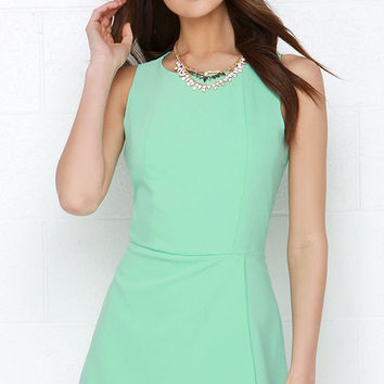Everlasting Now Mint Green Romper