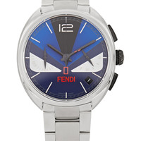 Fendi - Momento Bugs stainless steel watch