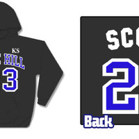 ONE Tree Hill Ravens NATHAN SCOTT #23 KS HOODIE  sizes S - 5XL available