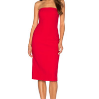 Elizabeth and James Margo Dress in Cardinal