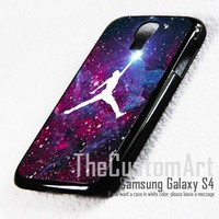 Air Jordan Logo Brand - For Samsung Galaxy S4 i9500 Black Case Cover