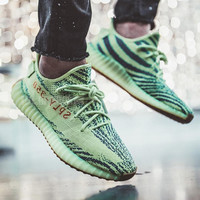 Adidas Yeezy Boost 350 V2 Men's and Women's Casual Sports Mesh Breathable Running Shoes