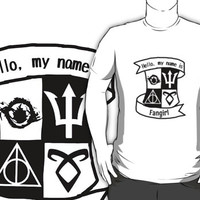 Hello, my name is Fangirl!