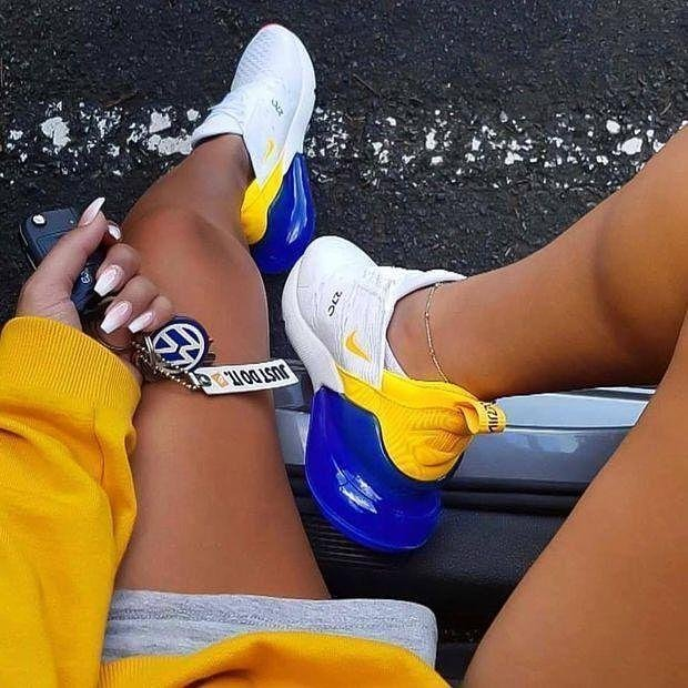 Image of Nike Air Max 270 Woman Men Fashion Sneakers Sport Shoes