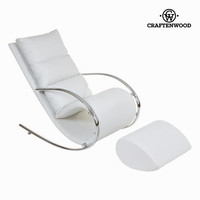 White rocking chair eve by Craften Wood