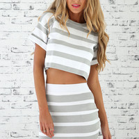 Portobello Striped Set | SABO SKIRT