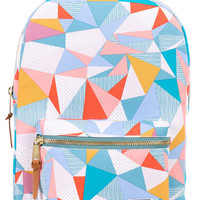 The Settlement Mid-Volume Backpack in Quilt Seafoam