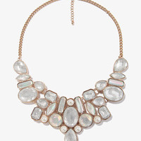 Bejeweled Mesh Chain Necklace | FOREVER 21 - 1027704898