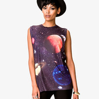 Solar System Muscle Tee