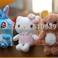 3D Bear/Lilo&Idoll Hello kitty case for iphone4 iphone 4 4s 5 5S Cartoon Plush idoll case for iphone 4s cell phone cases