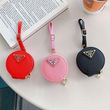 Prada Fashion Classics Headphone Case Shell For Apple AirPods 1 2 Pro Protective Case No Headset