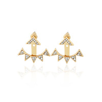 Hot Sale Accessory Diamonds Alloy Earrings [10857809167]