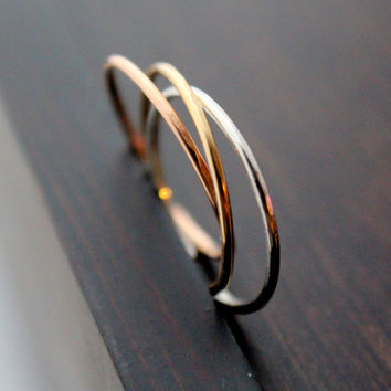 Stackable Ring Trio