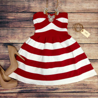 HELLO SAILOR DRESS IN RED – LaRue Chic Boutique