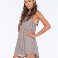 Rvca Tunnel Vision Dress Slate  In Sizes