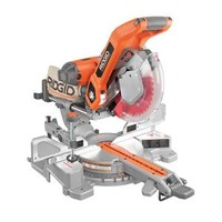 RIDGID, 10 in. Sliding Compound Miter Saw with Dual Laser Guide, MS255SR at The Home Depot - Tablet