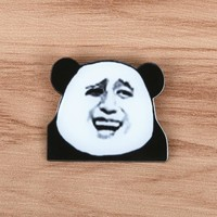 FFFPIN Anime Animal Expression Brooch Cat Badge Clothes Decor Coin Sign Mosquito Net Ornaments Girl Boy Friend Cheap China Gift
