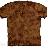 Pinecone Solid Color Tie Dye T-Shirt