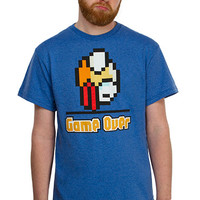 Game Over T-Shirt - Blue,