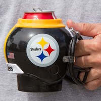 Pittsburgh Steelers All in One Helmet Can & Bottle Cooler, Mug and Desk Caddy