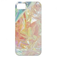 Iridescent Cellophane Radiance iPhone case iPhone 5 Covers from Zazzle.com