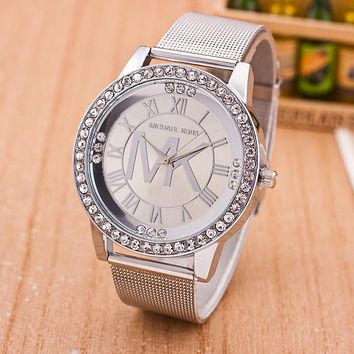 Fashion Alloy Watch Diamonds Quartz Watch (With Thanksgiving&Christmas Gift Box)[6407505668]