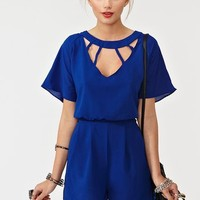 Back Out Romper in Clothes Bottoms at Nasty Gal