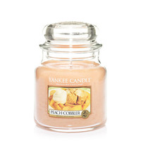 Peach Cobbler Medium Jar by Yankee Candle