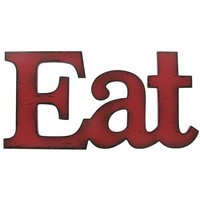 Red Eat Wall Plaque | Hobby Lobby | 684316