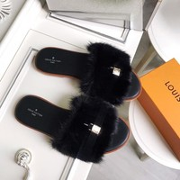 Louis Vuitton LV Lock It Flat Mule