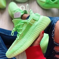 Adidas Yeezy 350 V2 Fashion Men's and Women's Low-Top Breathable Casual Sports Shoes