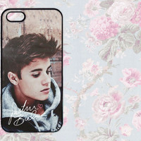 Justin Bieber iPhone 4 4s 5 Case Cute Hipster Signature Boyfriend Case