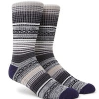 On The Byas The Jersey Shore Blanket Crew Socks - Mens Socks