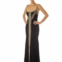 Goddess Dress Evening Gown by Theia